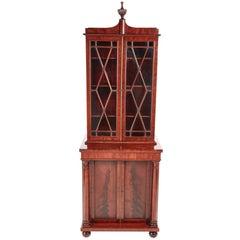 Fantastic Quality William IV Mahogany Bookcase