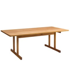 Børge Mogensen Shaker Table in Oak, 1960