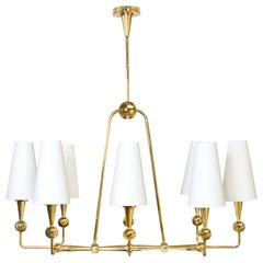 Caracas Brass Chandelier