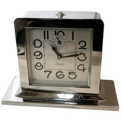 1930s Art Deco Clock by the French Clock Company Blangy