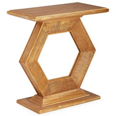 Antwerp Limed Pedestal Table