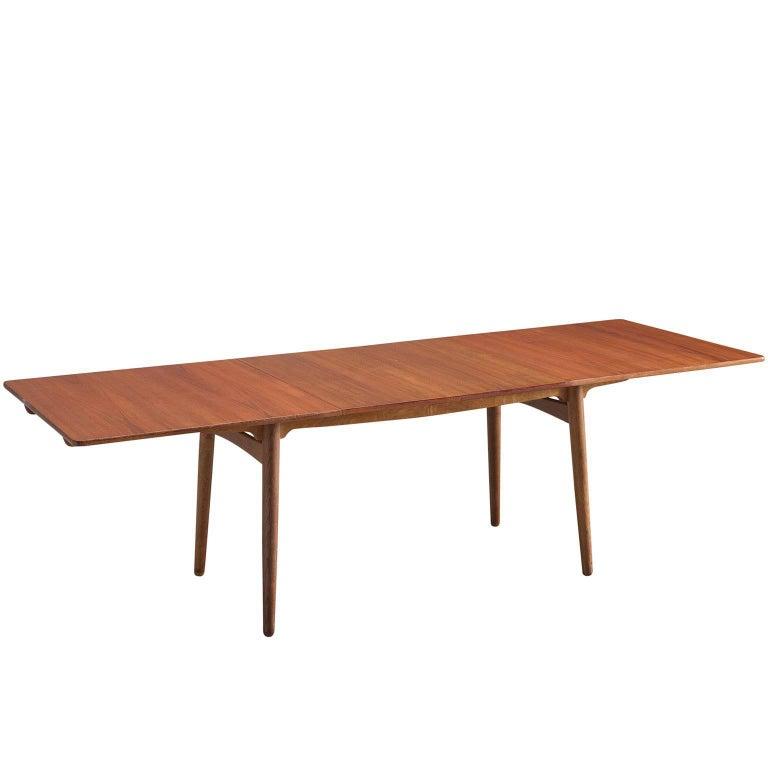 Hans Wegner for Andreas Tuck Extendable Teak Table