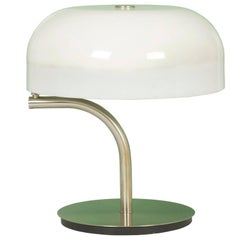 Plastic & Nickel Adjustable Table Lamp by Giotto Stoppino for Valenti Luce, 1970