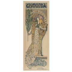 """Alphonse Mucha, """"Gismonda"""" from Les Maîtres de l'Affiche"""