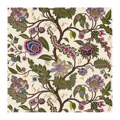 Schumacher Martyn Lawrence Bullard Sinhala Sidewall Tree of Life Jewel Wallpaper