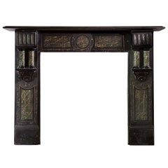 Late Victorian Welsh Slate Mantel 'VIC-ZC53'