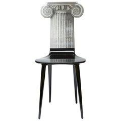 Fornasetti Chair Capitello Jonico