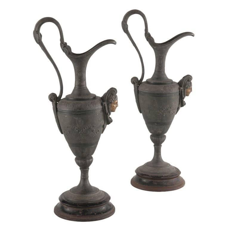 Antique Metal Ewers For Sale