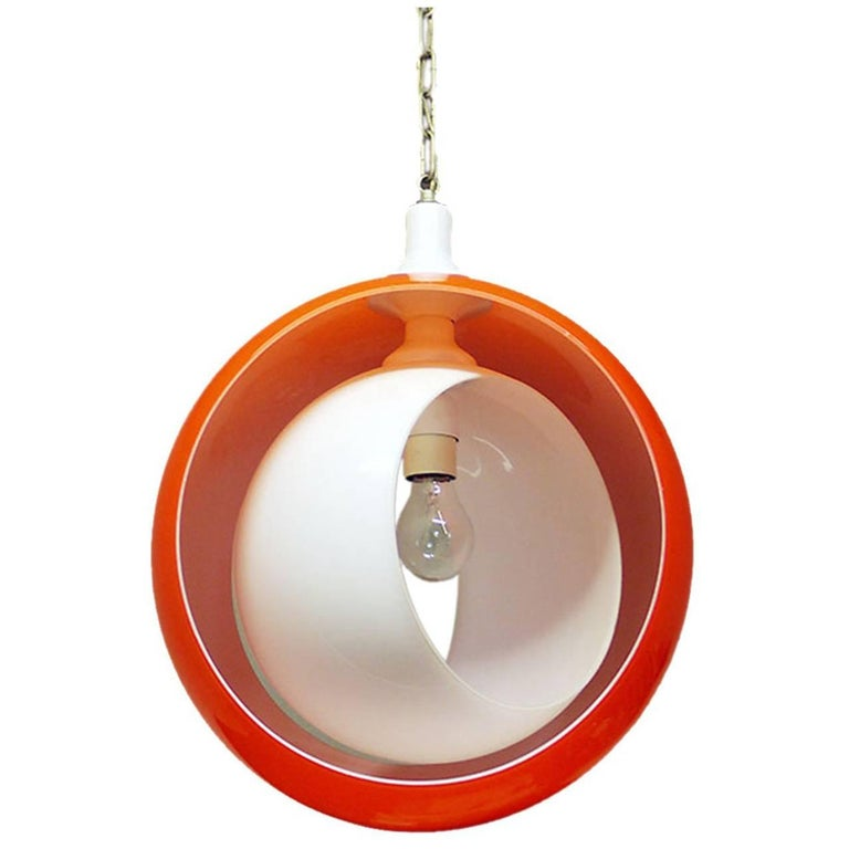 Murano Glass Pendant Lamp by Carlo Nason for Mazzega, 1960s For Sale