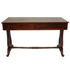 Regency Rosewood Sofa Table or Gentleman's Desk, English 19th Century
