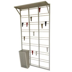 Exceptional Midcentury Coat Rack, 'Toonladder' by Coen de Vries for Pilastro