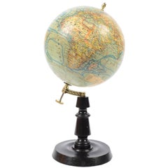 Globe Published in the 1930s by the French Geographer J. Forest