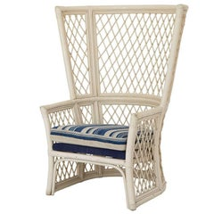 Rattan High Back Chair