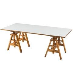 Leonardo Table by Achille Castiglioni for Zanotta