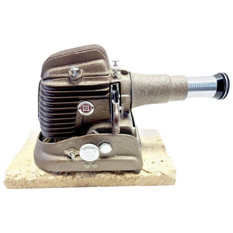 Iconic, Vintage Manumatic Primitive Projector, Wow 1950s Deco Design
