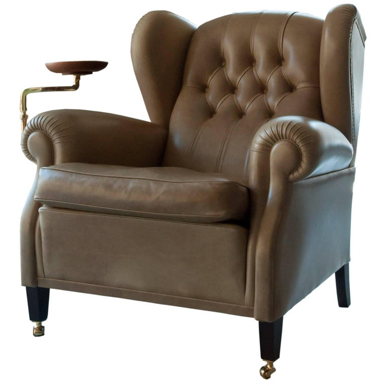 Armchair 1919 Poltrona Frau For Sale at 1stdibs