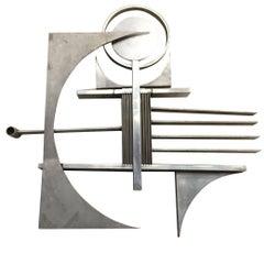 Free-Form Metal Art Wall Sculpture