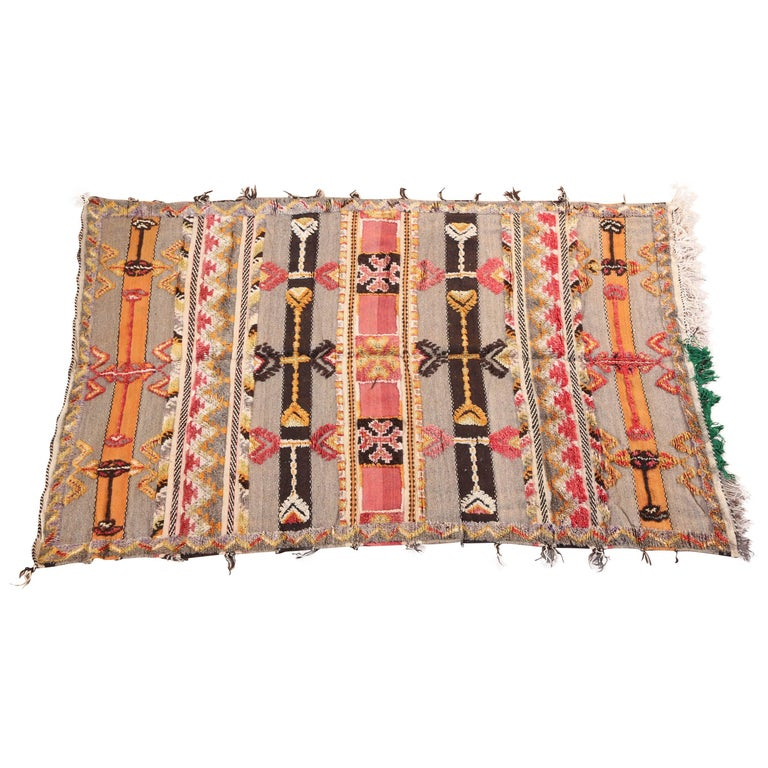 Moroccan Tribal Berber Vintage Rug For Sale