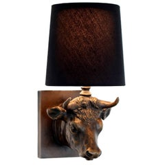Bronze Toro Light by Giovanna Ticciati, US Version