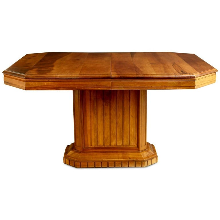 French Walnut Art Deco Dining Table or Center Table *MOVING SALE*