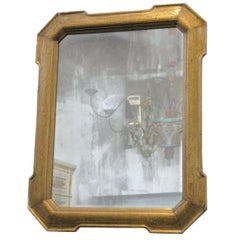 19th Century Louis Philippe Giltwood Mirror