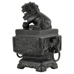 Chinese Soapstone Carved Box