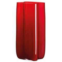 Bosco Carlo Moretti Contemporary Mouth Blown Murano Glass Vase