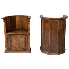 Later 16th to Early 17th Century Italian Renaissance Walnut Chairs