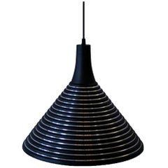Striped Pendant, Conical Flare