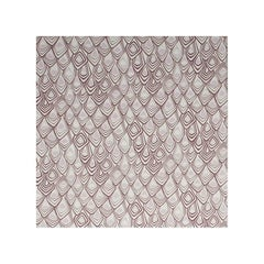 Boho Diamond Screen Printed Wallpaper in Mauve and Clay on Snow