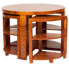 Art Deco Nest of Tables by Harry and Lou Epstein