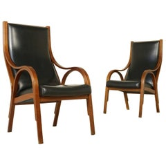 Cavour Armchairs by Stoppino, Meneghetti and Gregotti