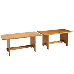 Jacob Kielland-Brandt Dining Tables in Solid Pine