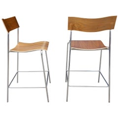 Midcentury Campus Stools by Johannes Foersom and Peter Hiort-Lorenzen, 12
