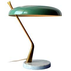 Mid-Century Modern Italian Table Lamp by Lumen, 1950s