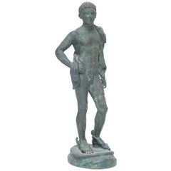 Grand Tour Bronze of Perseus or Hermes, Italian Chiurazzi Foundry