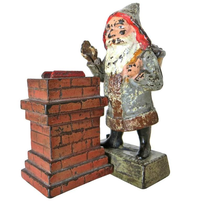 "Mechanical Bank ""Santa Claus,"" circa  1889"