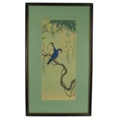 Ohara Koson Two Birds Color Woodblock Print