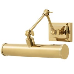 Dayton Wall Lamp in Gold or Nickel or Bronze Finish