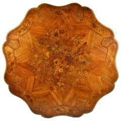 Fine 19th Century Marquetry Inlaid Centre Table