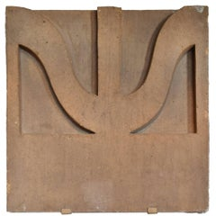 Sullivan Designed Terracotta Facade Fragment from the St. Nicholas Hotel