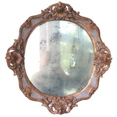 18th-19th Century Continental Probably French Mirror