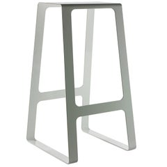 Stool Powder Coated Aluminum Bar Height Stool by Jonathan Nesci