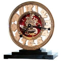 Super Rare Art Deco ATO Clock