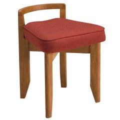 Guillerme and Chambron 'Rubercrin' Small Oak Chair