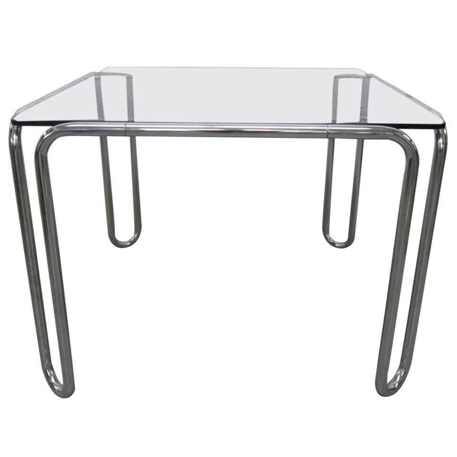 Marcel breuer tubular steel b10 table for sale at 1stdibs geotapseo Images