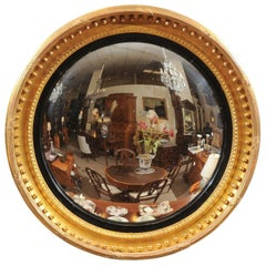 Antique And Vintage Convex Mirrors 366 For Sale At 1stdibs