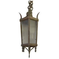 Wrought Iron Light Fixture