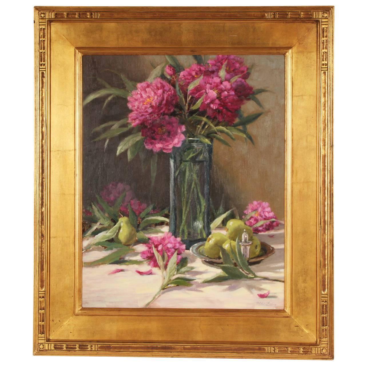 Mitch Bilis Oil on Canvas Still Life