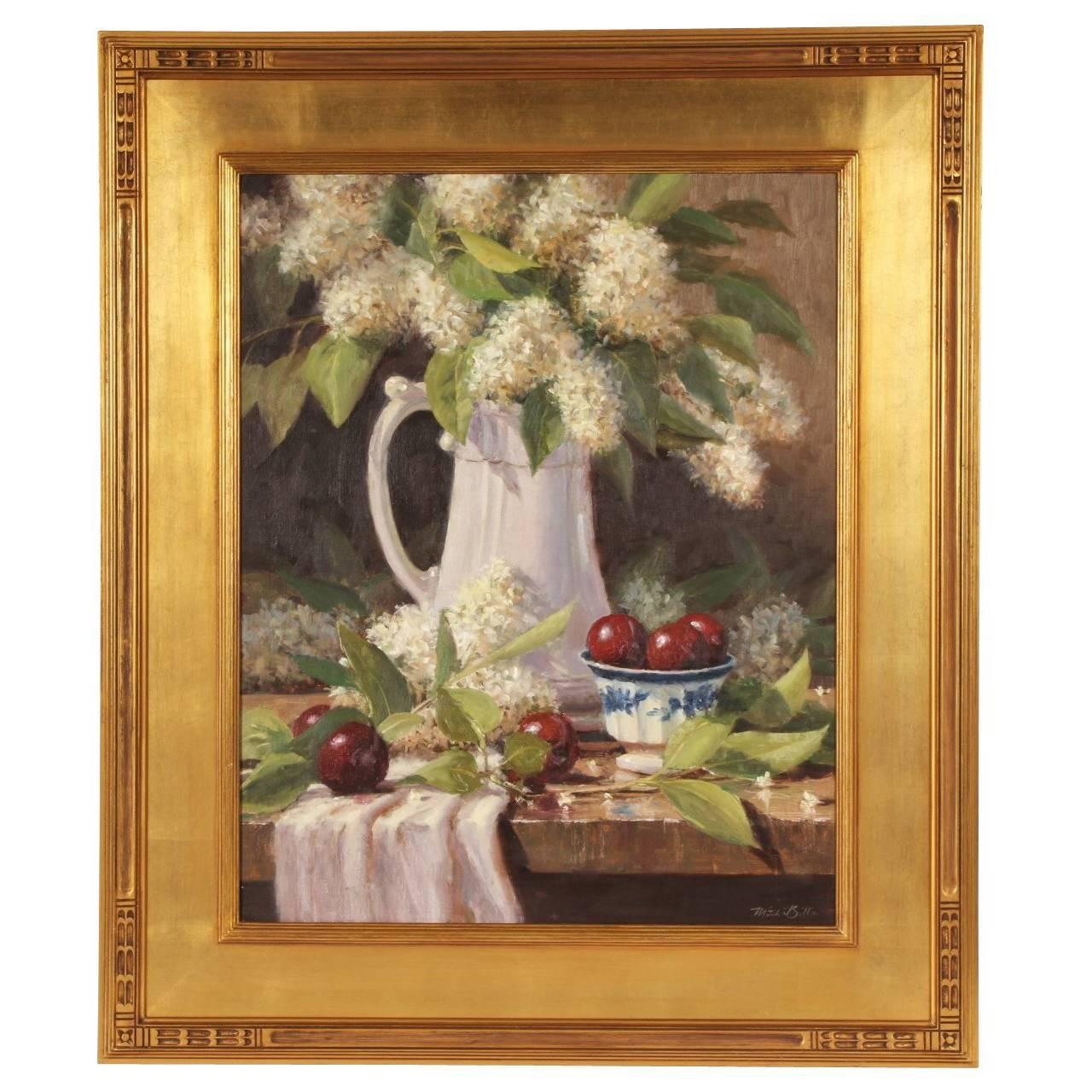 Mitch Billis Oil on Canvas Still Life